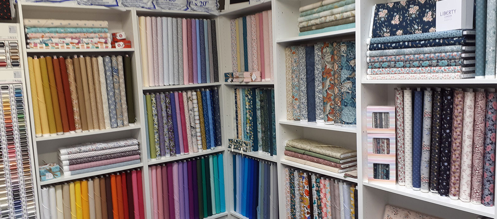 quilting fabric shop in county durham