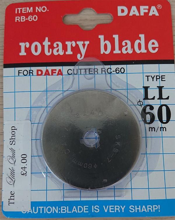 RC60 Dafa Rotary Blade