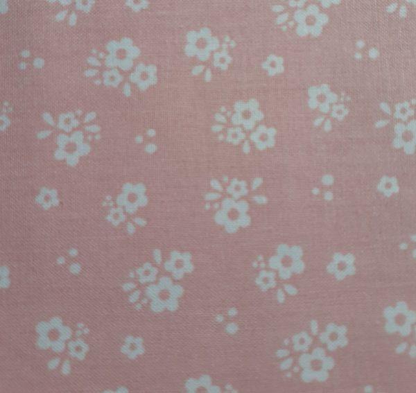 Hootsie Owl-Pink flowers-Last Piece 1m 50cm