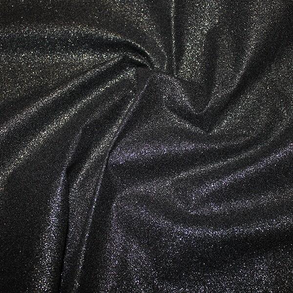 Glitter Cotton-Black/Silver