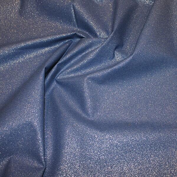 Glitter Cotton-Royal/Silver