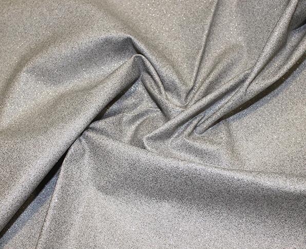 Glitter Cotton-Silver