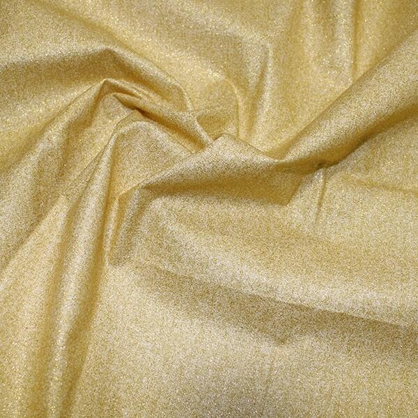 Glitter Cotton-White/Gold