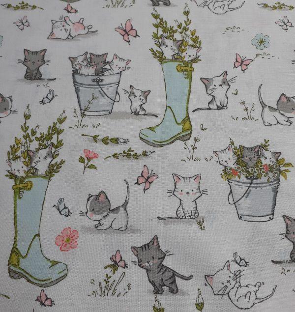 Playful Kittens-Wellies