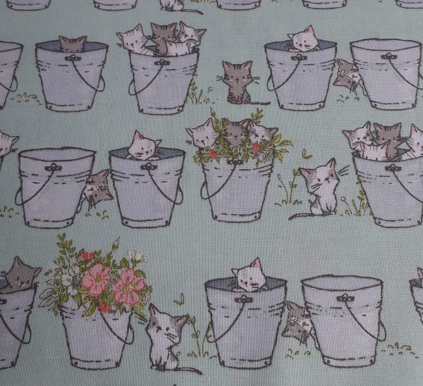 Playful Kittens-Buckets