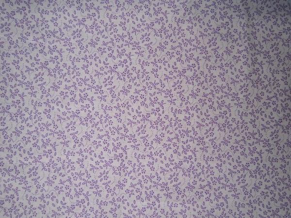 Ditsy Daisy-Ivory/Lavender