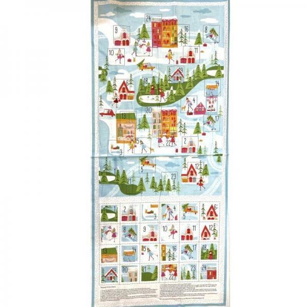 Christmas Town Lights Advent Calendar