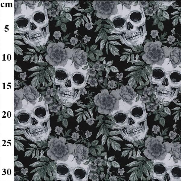 Skulls and Wild Flowers