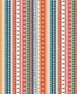 Festive Friends-Christmas stripes