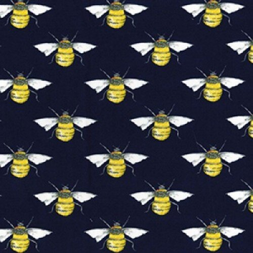 Bees on Navy