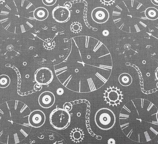 Steampunk Clocks by Fabric Freedom