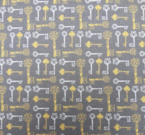 Steampunk Keys by Fabric Freedom