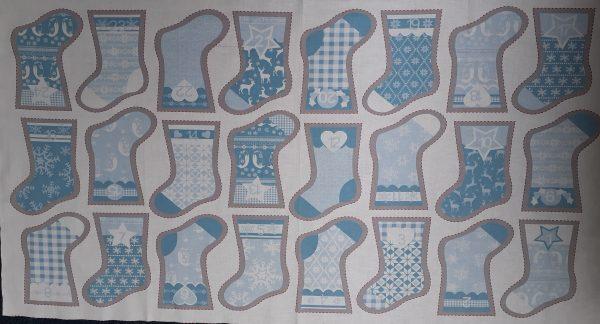24 Mini Christmas Stockings