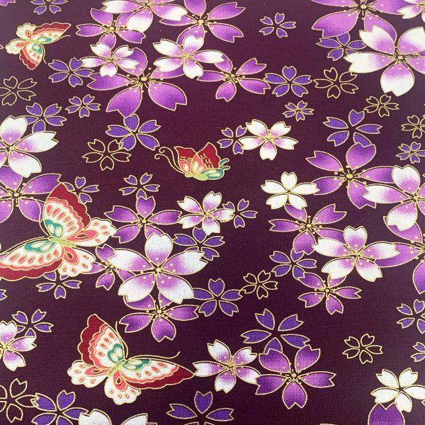 Japanese Metallic-Purple Butterflies