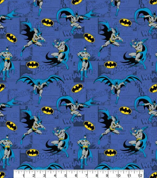 Batman Comics-Blue