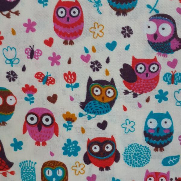 Happy Owls-cream