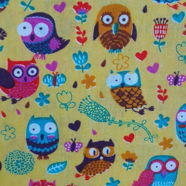Happy Owls-Mustard