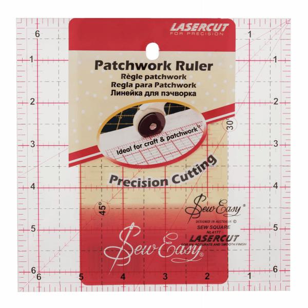 6.5″ Square Patchwork Ruler