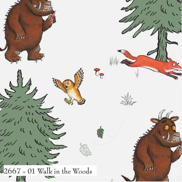 The Gruffalo-Walk In the Wood