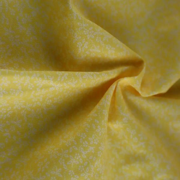 Ditsy Daisy-Lemon/Ivory