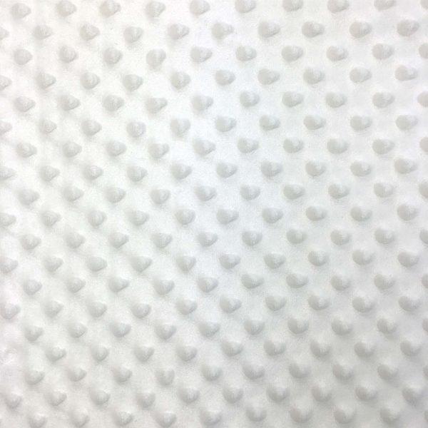 Dimple Fleece- White