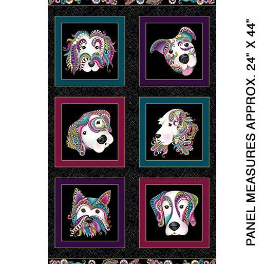 Dog On It by Benartex Panel