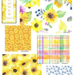 Sunflower day-Fat Quarter Bundle