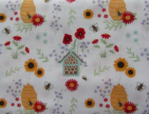 In The Garden-Bee House