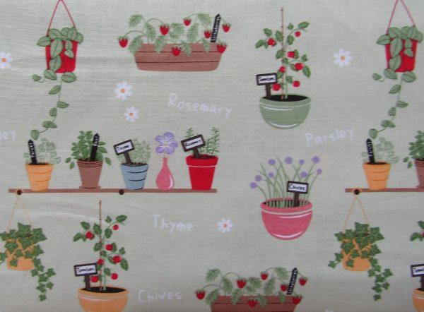 In The Garden-Planters